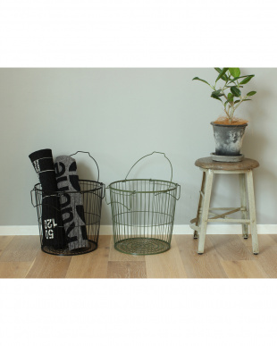 BK STACKS WIRE STORAGE LAUNDRY BASKET_Mを見る