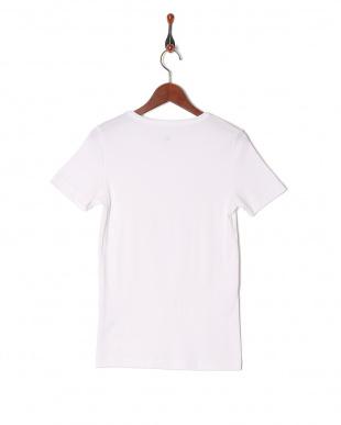 01 Vネック半袖Tシャツ(G)を見る