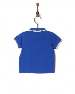 55 鹿の子編み半袖ポロシャツを見る