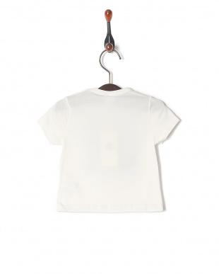 88  ライトコットンプリント半袖Tシャツを見る