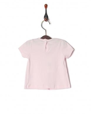 18 ギャザー切替半袖Tシャツを見る