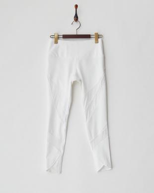 WHITE メッシュ切り替えレギンス・Ankle wrap legging 水陸両用を見る