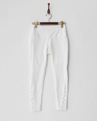 WHITE レースアップレギンス・Lace up Perfect leggingを見る