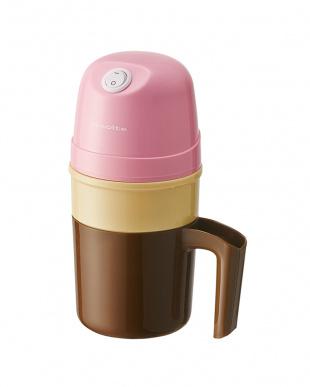 ピンク アイスクリームメーカー 交換用冷却ポットセットを見る
