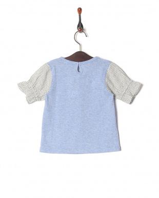 ブルー 半袖Tシャツを見る