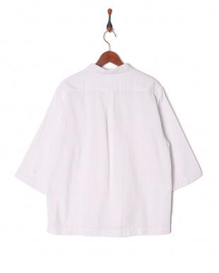 シロ パナマスキッパー7分袖シャツを見る