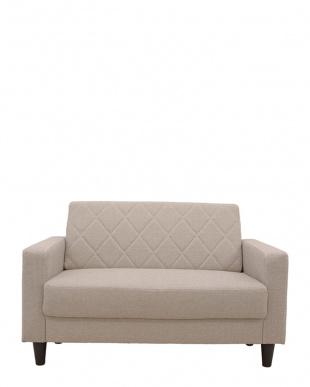 アイボリー ラグス 二人掛けソファーを見る