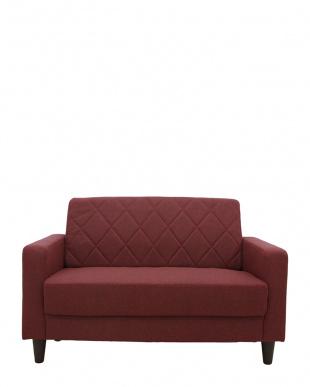 レッド ラグス 二人掛けソファーを見る