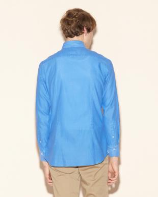 ブルー  カラミピグメントシャツを見る