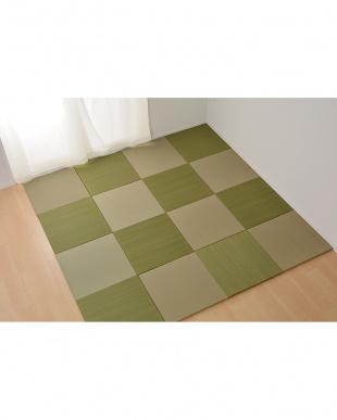 グリーン  置き畳 紗彩(さや) 65×65×2.5cmを見る