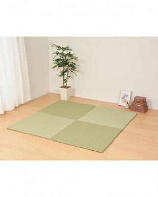 グリーン 置き畳フラッタ 奏風(かなた) 65×65×1.5cmを見る