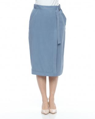 紺 バイオウォッシュスカートを見る