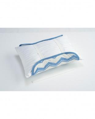 ブルー 接触冷感 枕パッドを見る