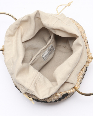 ボーダー ABACA RING HANDLE TOTEを見る