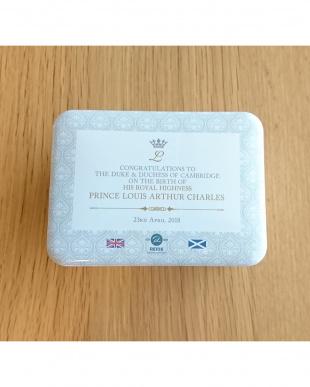 ショートブレッド「塩キャラメル」 ルイ王子ご誕生記念デザイン缶を見る