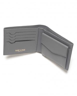 グリー/スーリー  PF 4CC/MONNAIE エカイユ柄 二つ折り財布を見る