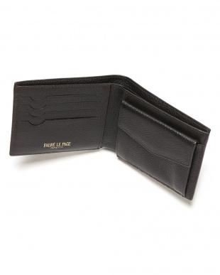 ブラン/ニジェール  PF 4CC/MONNAIE エカイユ柄 二つ折り財布を見る