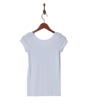 サックス 綿混 UVケア 吸水速乾 1分袖シャツを見る