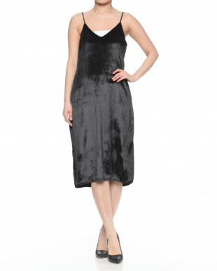 black Q3026-E979A NIA SLIP DRESSを見る