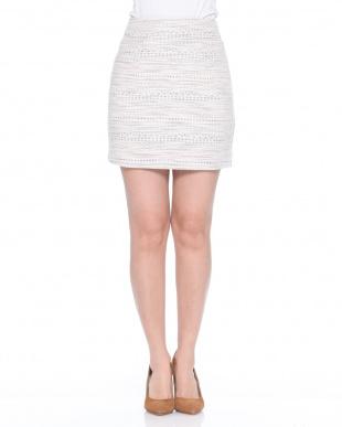 YG ツィード風台形スカートを見る