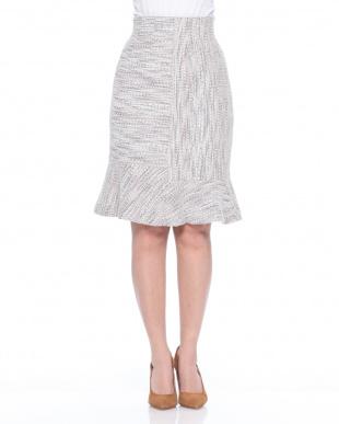 YG ツィード風マーメイドスカートを見る