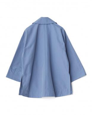 ブルー C/Nグログランハーフコートを見る