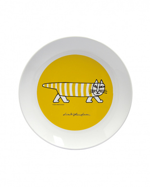 イエロー  LISA LARSON 軽くて割れにくメラミン製プレート(丸皿)&ボウル(小鉢) セットを見る
