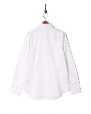ホワイト 長袖シャツを見る