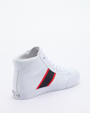 White Tumbled/Navy/Red w/ White PP GEOFF MIDを見る