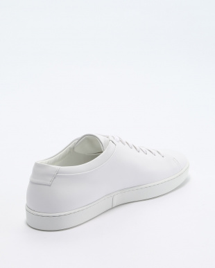 white LEATHER LOW TOPを見る