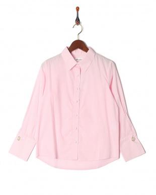 90/無彩色A(ホワイト) 3WAY 裾レースビスチェ&シャツセットを見る