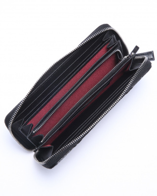 BLK ラウンドファスナー財布を見る