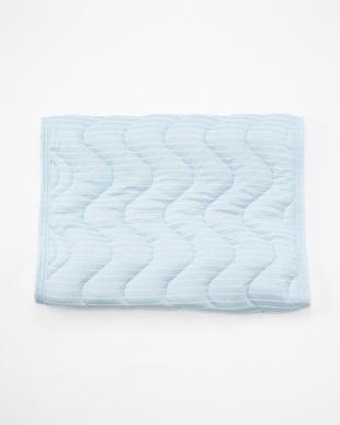 ライトブルー 消臭・抗菌加工ピローカバー付きウォッシャブルパイプ枕を見る