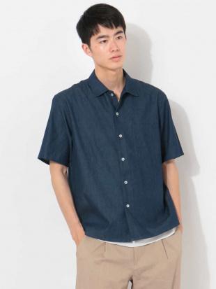 ブルー 4.5オンスデニムシャツ[WEB限定サイズ] a.v.v HOMMEを見る