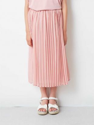 ネイビー [100-130]ロングプリーツスカート[WEB限定サイズ] a.v.v bout de chouを見る