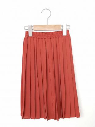 オレンジ [140-150]ミディプリーツスカート a.v.v bout de chouを見る