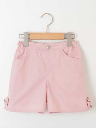 ピンク [100-130]裾リボン付ショートパンツ[WEB限定サイズ] a.v.v bout de chouを見る