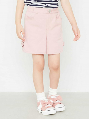 ピンク [140-150]裾リボン付ショートパンツ a.v.v bout de chouを見る