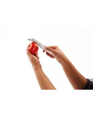 トマト&桃ピーラー(皮むき器)を見る