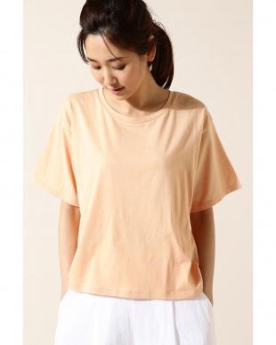 ピンク Unaca オープンバックTシャツ アナディスを見る