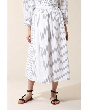 ホワイト1 Luxluft ギャザースカート(セットアップ対象商品) アナディスを見る