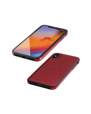 ナイロンレッド Hybrid Case Etanze iPhone XS Maxを見る