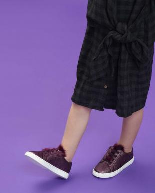 Purple キッズ メタリック スニーカー / Kids Metallic Sneakersを見る