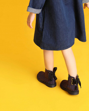 Multi キッズ リボンディテールブーツ / Ribbon Detail Boots KIDSを見る