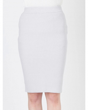 ベージュ ダブルスリットニットタイトスカート RESEXXYを見る
