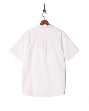 white COOL MAX ワンポケット半袖シャツを見る