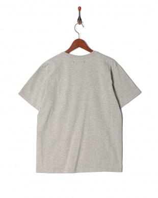 h.gray グラデーションプリントクルーネック 半袖Tシャツを見る