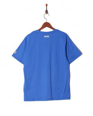 blue オリジナル ハートロゴクルーネック 半袖Tシャツを見る