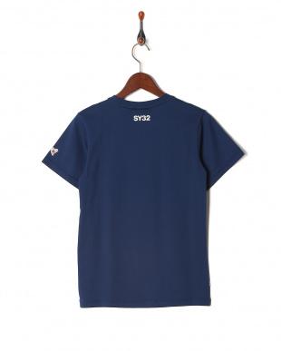 navy オリジナル ハートロゴクルーネック 半袖Tシャツを見る