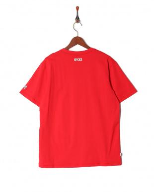 red オリジナル ハートロゴクルーネック 半袖Tシャツを見る